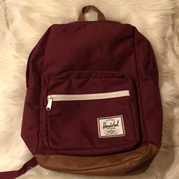 24741841e0a Herschel Supply Company Handbags - Herschel Pop Quiz Backpack burgundy  gently used